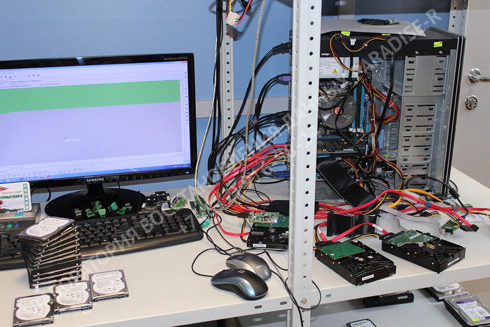 Восстановление данных с жесткого диска - снятие посекторной копии